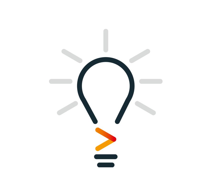Abbildung: Grafik einer Glühbirne